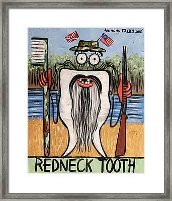 Redneck Tooth Framed Print