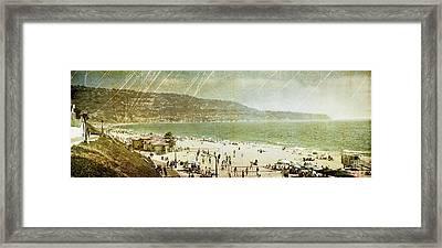 Redondo Beach La Framed Print by Kevin Bergen