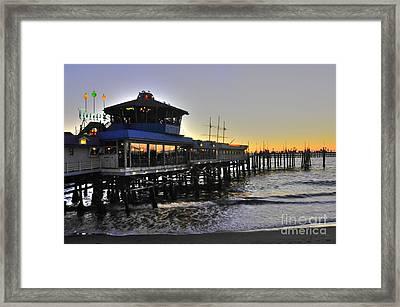 Redondo Pier North Framed Print