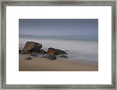 Redondo Rocks Framed Print