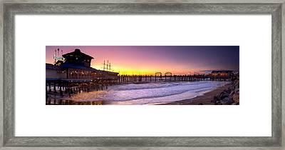 Redondo Twilight Framed Print