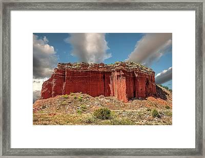 Redrock Framed Print