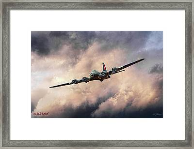 Red's Baby Framed Print by Peter Chilelli