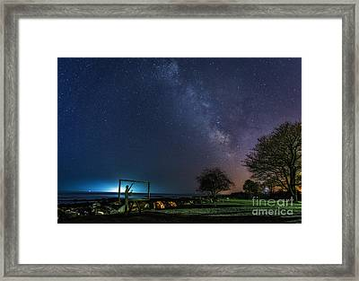 Reds Goodbye Framed Print