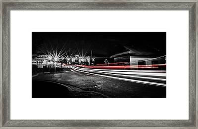 Reds In Downtown Helena Framed Print