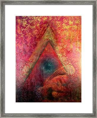 Redstargate Framed Print