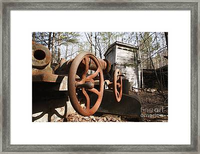 Redstone Quarry - Conway New Hampshire Framed Print by Erin Paul Donovan