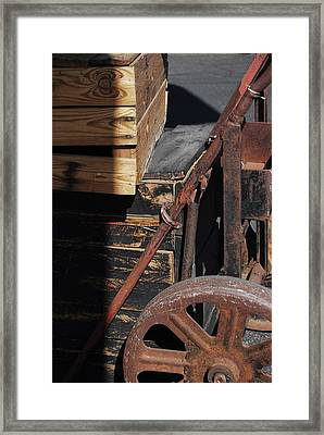 Reduce Reuse Recycle Framed Print by Sean-Michael Gettys