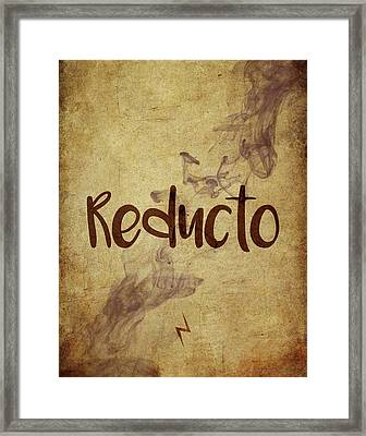 Reducto Framed Print