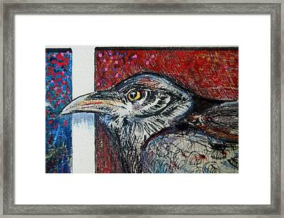 Red,white ,blue Framed Print by Susan Brown    Slizys art signature name