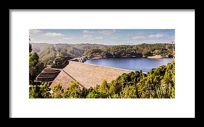 Power Station Framed Prints