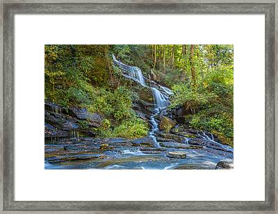 Reedy Cove Falls 3 Framed Print by Gestalt Imagery