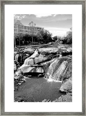 Framed Print featuring the photograph Reedy River by Corinne Rhode