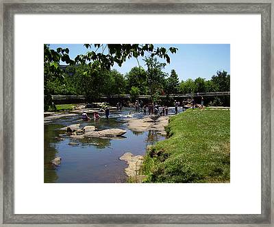 Reedy River Framed Print