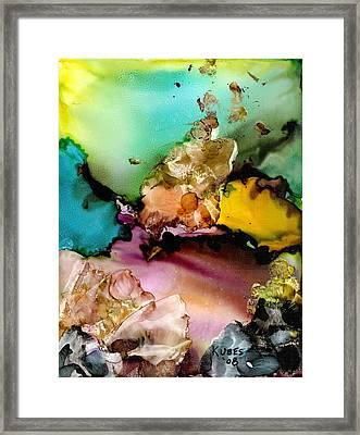 Reef 3 Framed Print by Susan Kubes