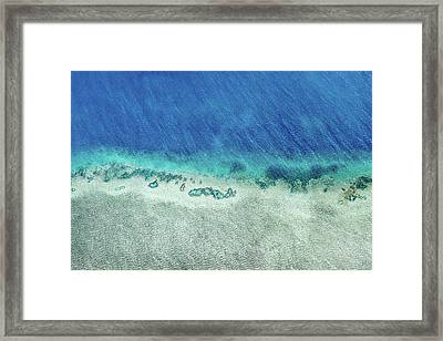 Reef Barrier Framed Print