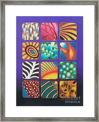 Reef Designs Ix Framed Print