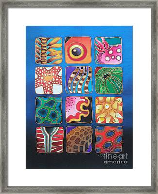 Reef Designs Vii Framed Print