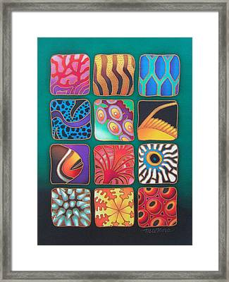 Reef Designs Viii Framed Print