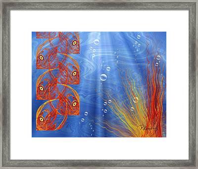 Reef Framed Print