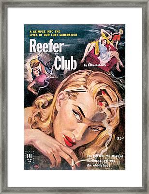 Reefer Club Framed Print