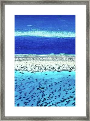 Reefs Edge Framed Print