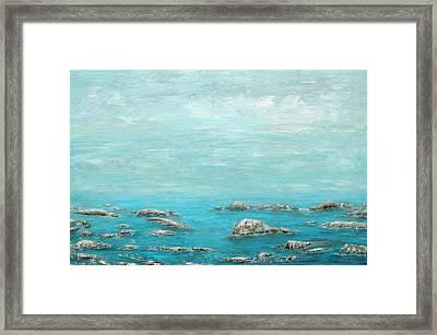 Reefs Framed Print