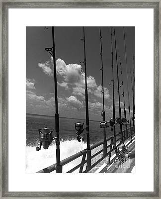 Reel Clouds Framed Print by WaLdEmAr BoRrErO