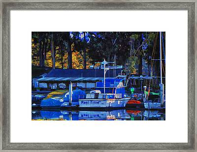 Reel Time Framed Print by Patricia Stalter