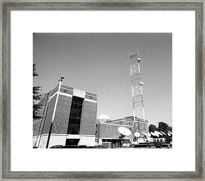 Reese Phifer Hall, Rear View, 2017 Framed Print