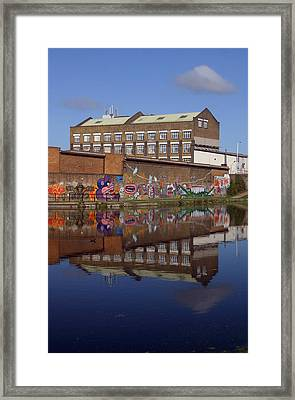 Refective Canal 2 Framed Print by Jez C Self