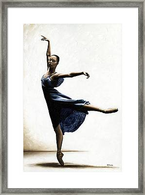 Refined Grace Framed Print by Richard Young