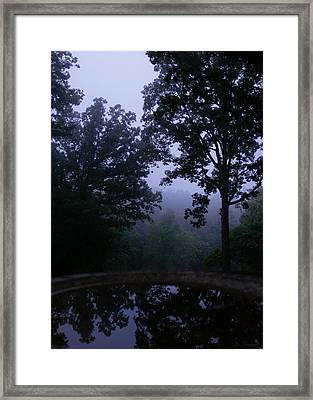 The Mirror Of Galadriel Framed Print