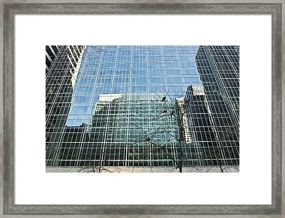 Reflected Buildings Framed Print by Svetlana Sewell
