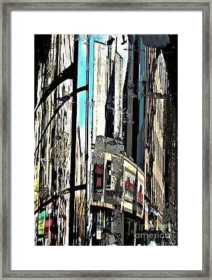 Reflected City 2 Framed Print by Sarah Loft