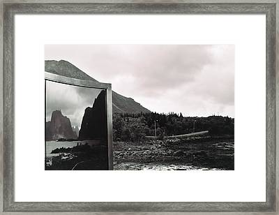 Reflected Framed Print by Gregory Barger