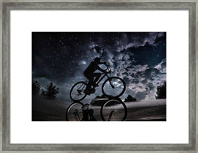 Reflected In The Stars... Framed Print by Antonio Grambone