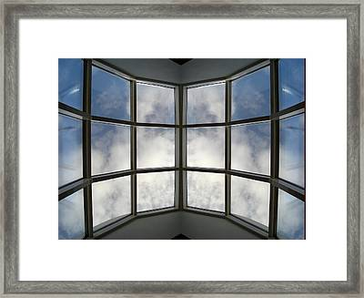 Reflected Reflections 04 Framed Print by Marilynne Bull