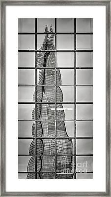 Reflected Shard Framed Print by Rod McLean