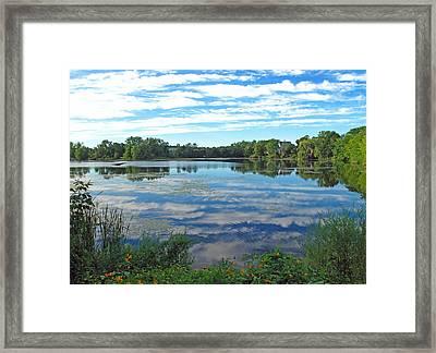 Reflected Sky Framed Print