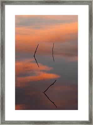 Reflected Sunrise Framed Print