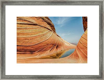 Reflected Wave Framed Print