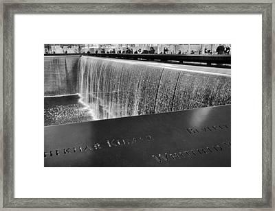 Reflecting Absence Framed Print by Jessica Jenney
