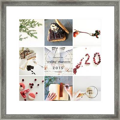 Reflecting Back Over Some Of Our Framed Print