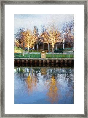 Reflecting Beauty Framed Print