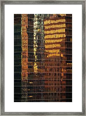 Reflecting Chicago Framed Print by Steve Gadomski