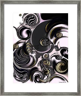 Reflecting Creation Framed Print