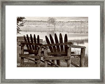 Reflecting Framed Print by JAMART Photography