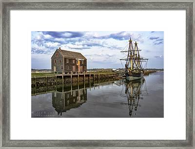 Reflecting Moment Framed Print