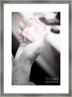 Reflecting On Age And Beauty Framed Print by Jorgo Photography - Wall Art Gallery